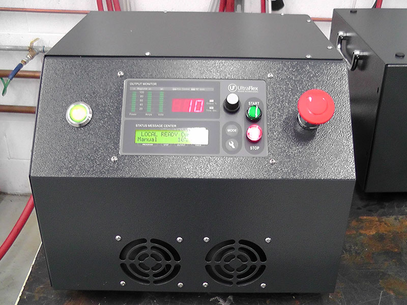 Brazing Copper to Brass - UPT-S5 5kW Induction Power Supply