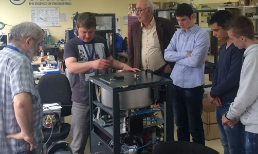 IMG_8738Ultraflex Power held open day for students and shared the magic of induction heating
