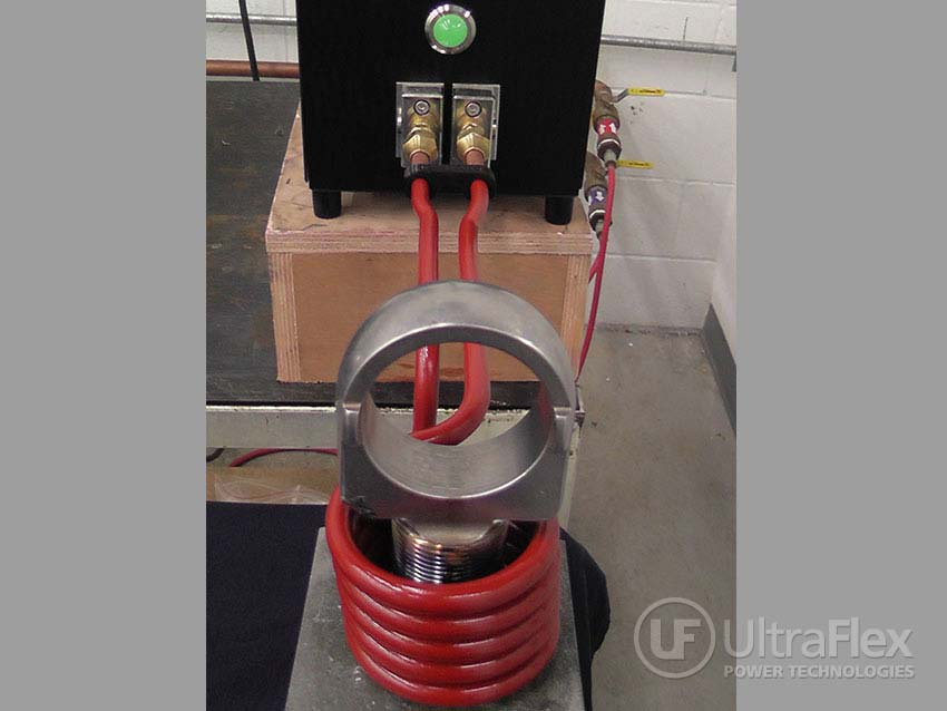 Induction Preheat for Threading