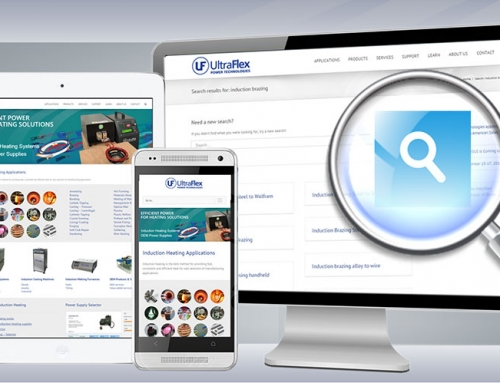 New enhanced responsive web site launched with search capabilities
