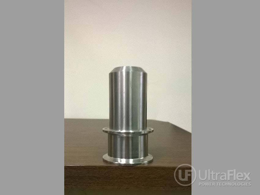 induction to heat a stainless steel cup to 1350-1400F