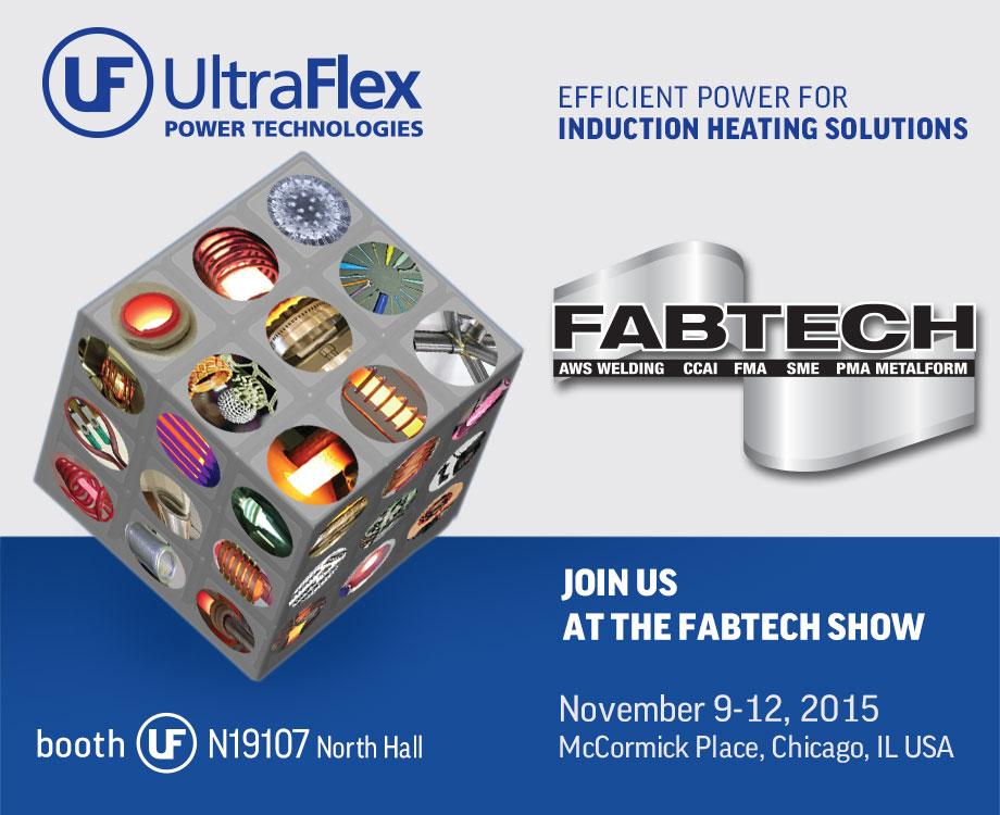 Ultraflex Induction at Fabtech 2015