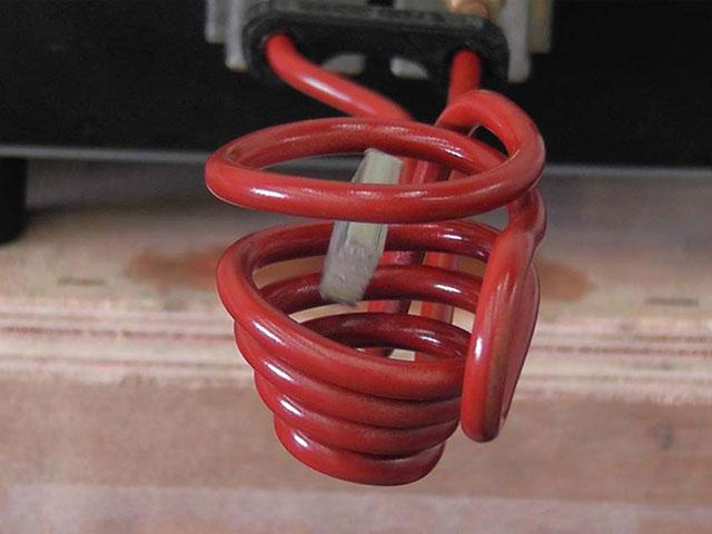 Induction Heating Levitation Coil Melting Aluminum