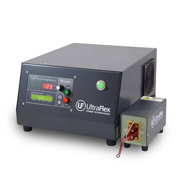 High frequency induction heating power supply UPT-SB and heat station
