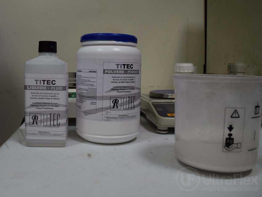 titanium casting guide