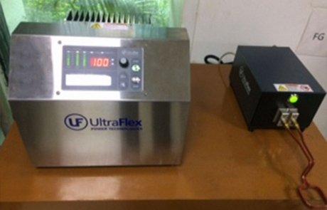SM5/200 kHz Induction Brazing machine