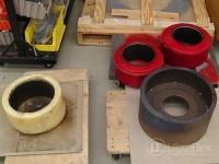 Preheat steel rim for welding