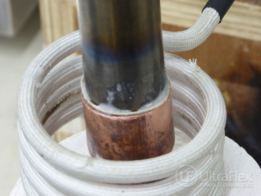 braising copper to Titanium