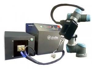 Induction brazing robot