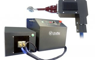 Mobile induction brazing machine