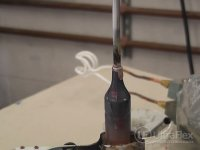 brazing wires copper to steel