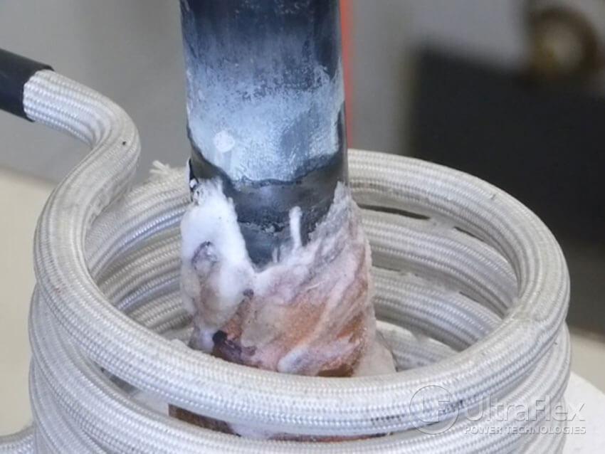 brazing temperature copper to Titanium