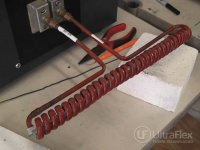 Inline Induction Wire Heating