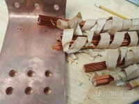 Brazing steel Plate and Copper Bundle
