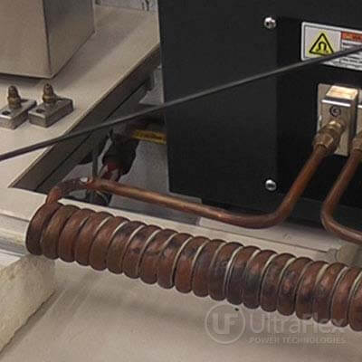 induction wire heating process