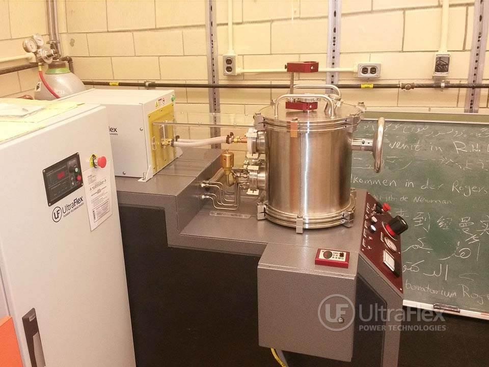 Levitation melting of titanium alloys in vacuum