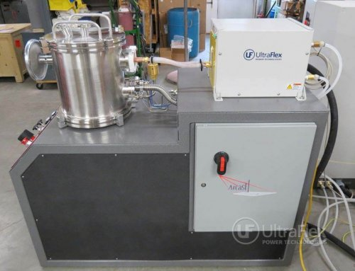 Ultraflex Power Supply integrated with Arcast vacuum furnace