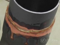 brazing metal to Copper
