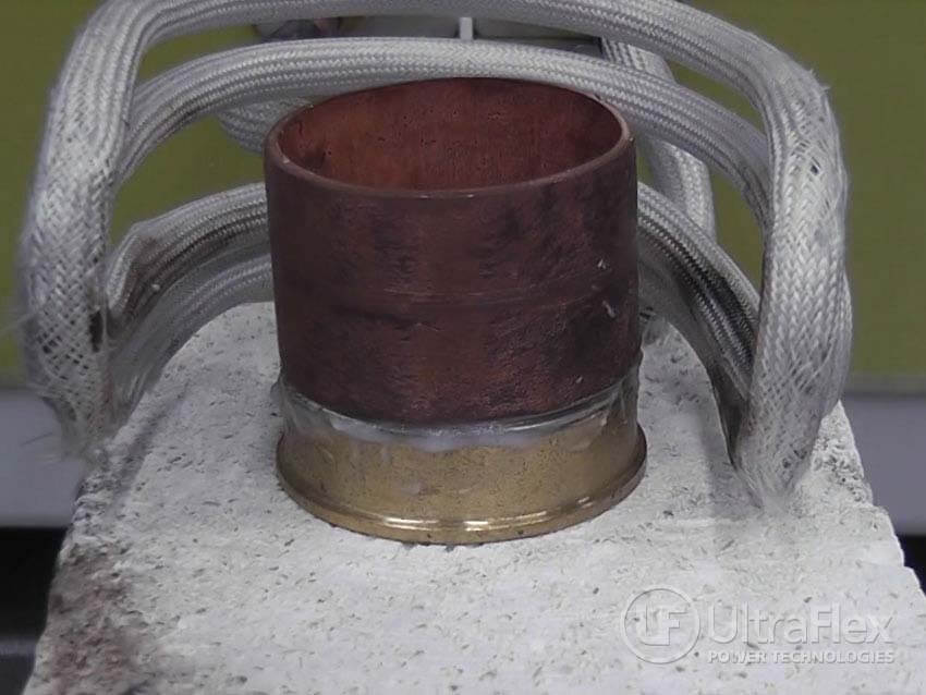 copper tube induction brazing equipment