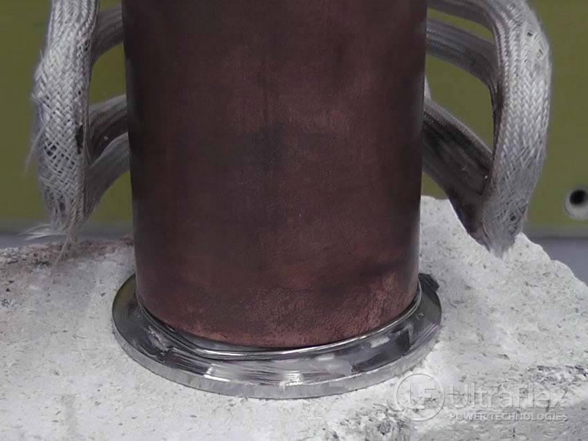 braze Copper to Steel