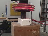 induction heating carbide