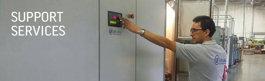 Support induction heating systems
