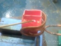 brazing copper with induction heating