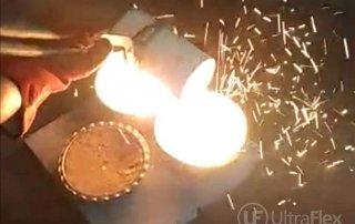 induction melting steel furnace