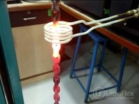 induction hardening of metal
