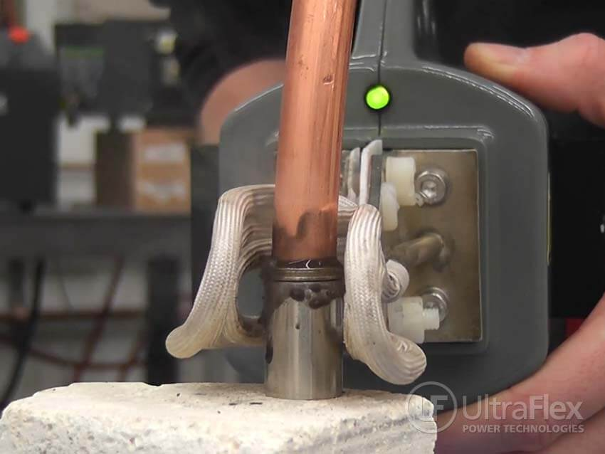Brazing stainless steel to copper