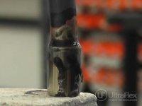 Braze steel tube