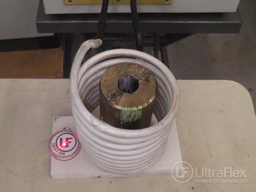 Induction preheat postheat applications