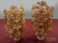 Gold casting samples