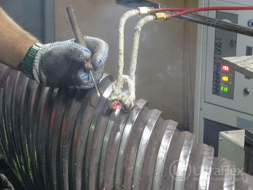 de-braze carbide tip of milling cutter