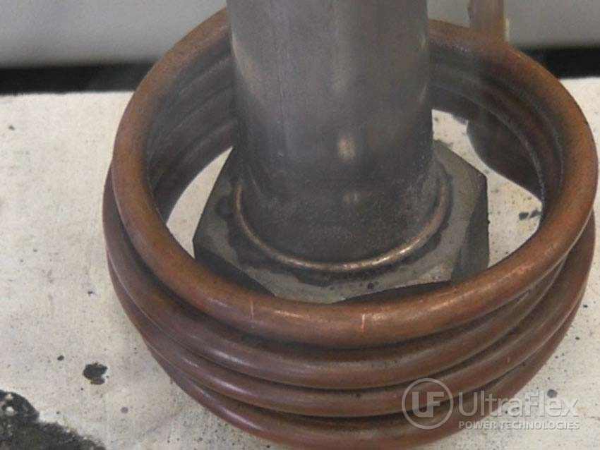 Brazing stainless steel tubing