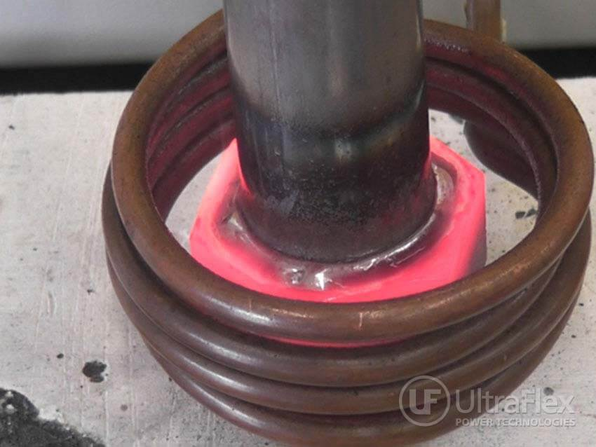 Induction brazing stainless steel
