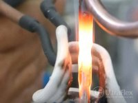Brazing cooper to steel