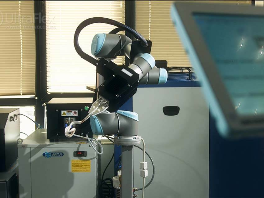 Induction Brazing Using Robot