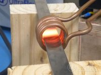 Annealing stainless steel piano wire