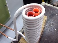 Annealing two Copper Tubes Simultaneously with Induction