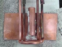 Brazing Copper and Brass Rods to Strips with Induction