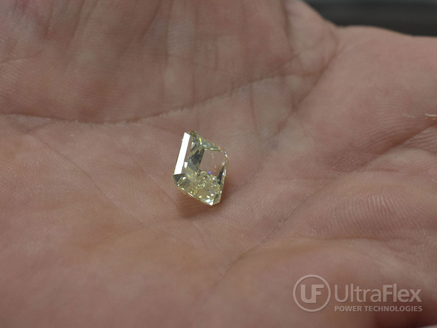 Heat treatment of a diamond