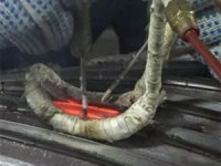 Induction de-brazing