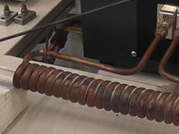 Induction Wire Heating