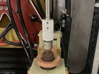 Induction hardening and induction hardening scanner
