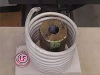Preheating Stainless Steel Cylinder