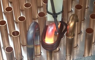 Brazing copper tubes for heat exchangers