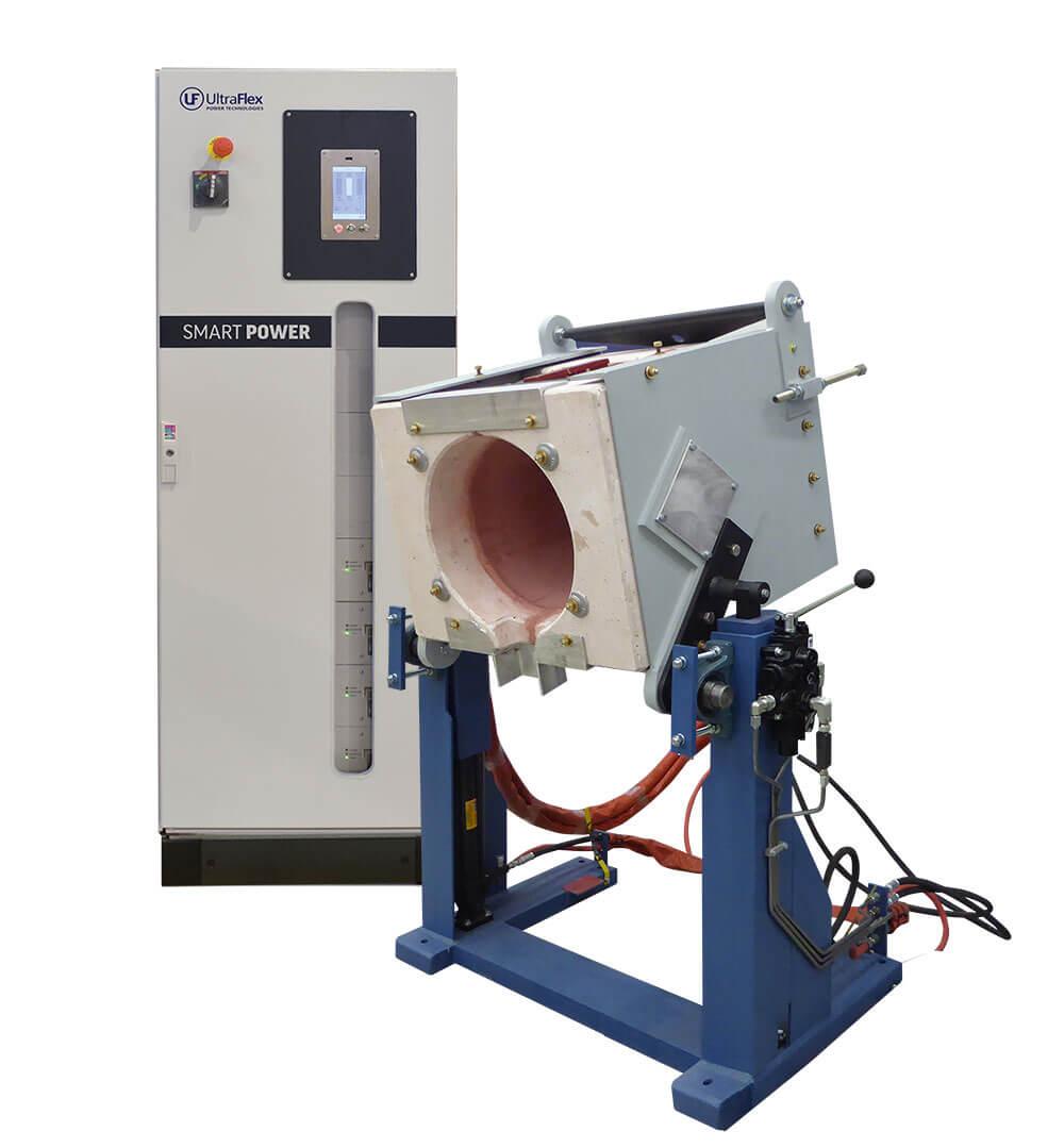 UltraMelt ITC Series – Tilting Induction Melting Furnace