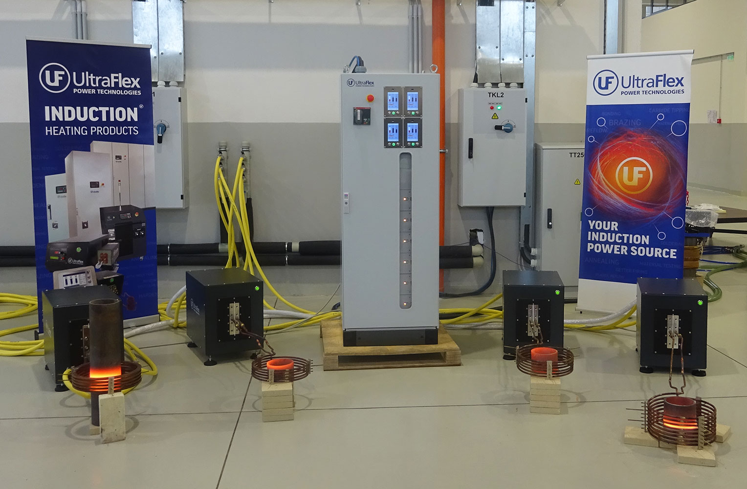 Smart Power operating with four heat stations