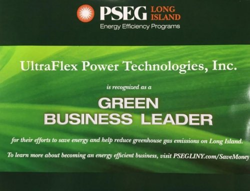 UltraFlex Power has Become an Official Green Business Leader